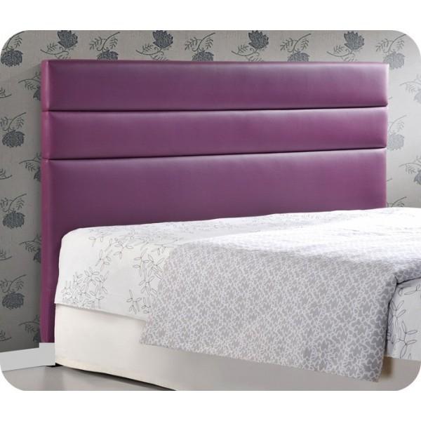 Cabeceros de cama lacado en blanco l neas horizontalesventa online tetedelit - Cabecero cama acolchado ...