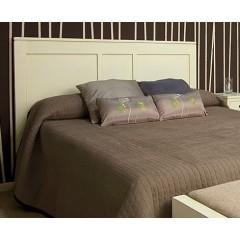 Cabecero de cama dm clasico lacado blanco calado