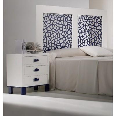 Cabecero de cama dm paneles decorativos multiples acabados for Paneles decorativos de pvc