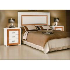 Cabecero de cama lacado blanco M03/10/C1