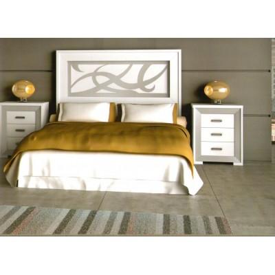 Cabecero de cama lacado blanco  M03/10/C3