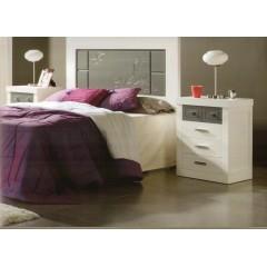 Cabecero de cama lacada blanco  M03/10/C4