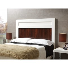 Cabecero de cama lacado blanco panel decorativo