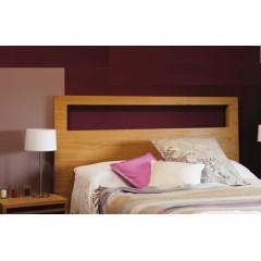 Cabecero de cama Modelo M02L chapado roble